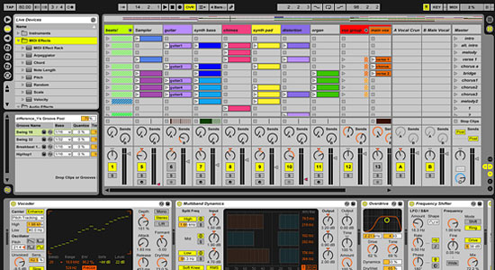 ableton how to revert to old live sets