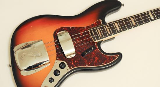 FenderSunburstBass