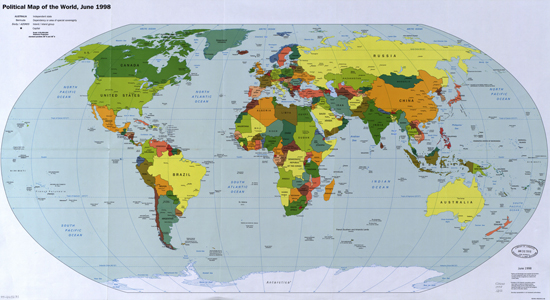From The Desk Of Bombay Bicycle Club: Maps Of The World   Mag